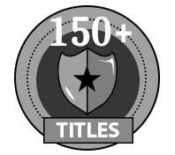 150+ Titles