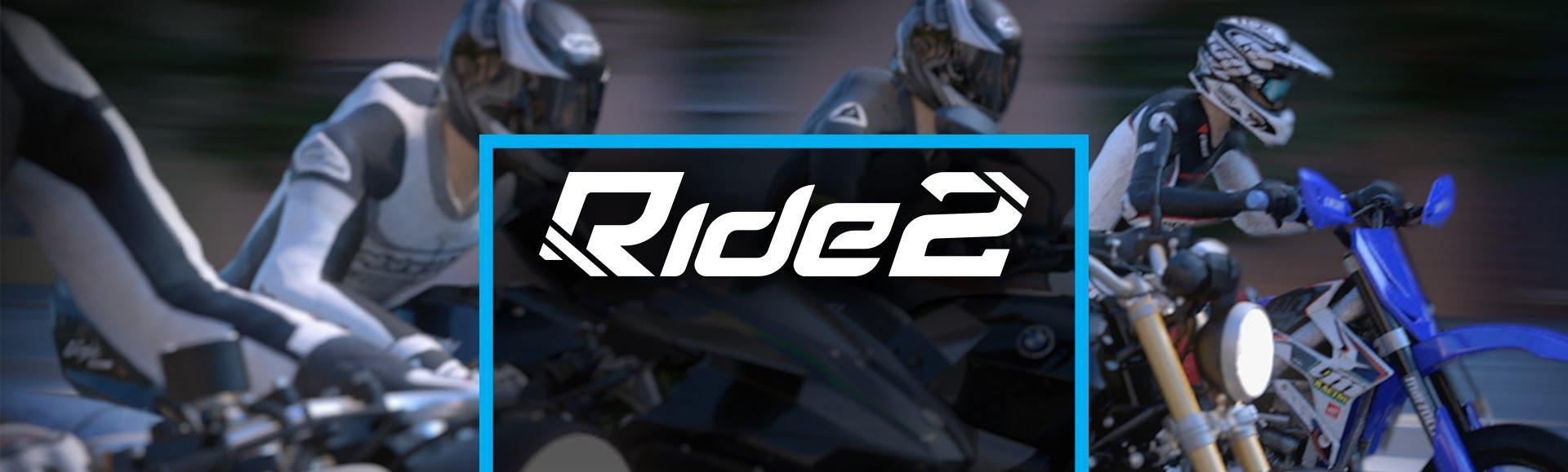 Ride 2 Logo and Screenshot