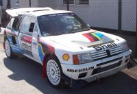 Kevin Furber's 205T16 rally car