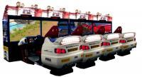 Sega Rally Arcade Cabinet