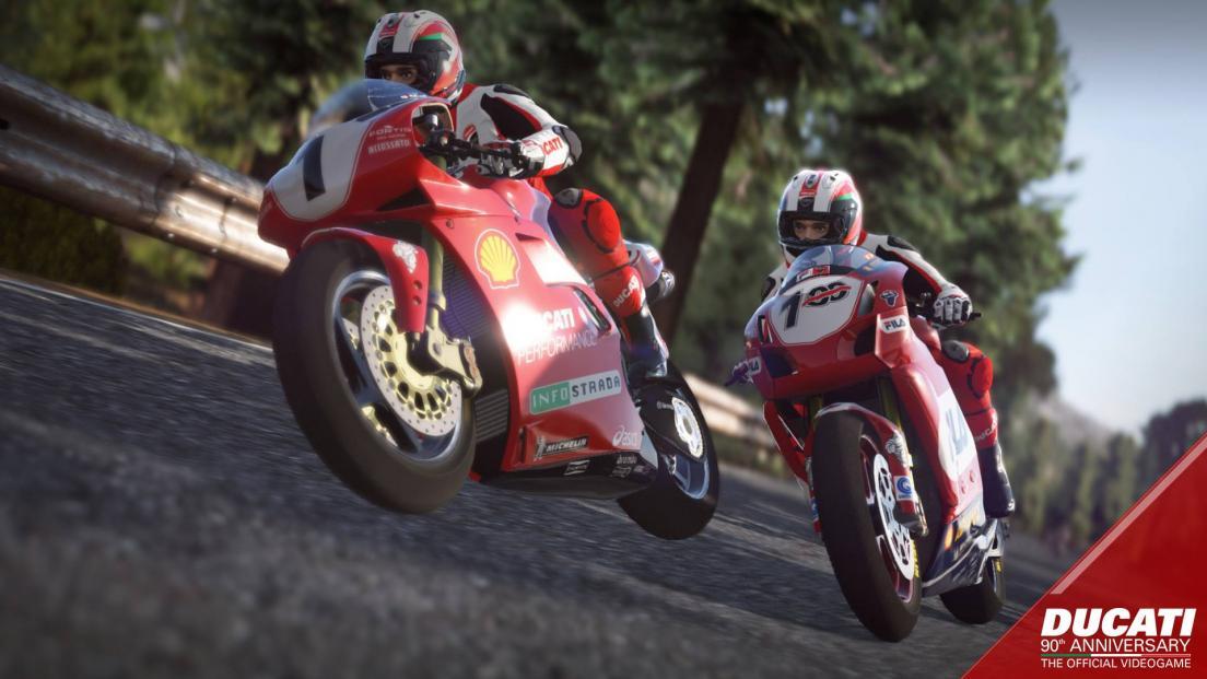 Ducati 90th Anniversary Screenshot