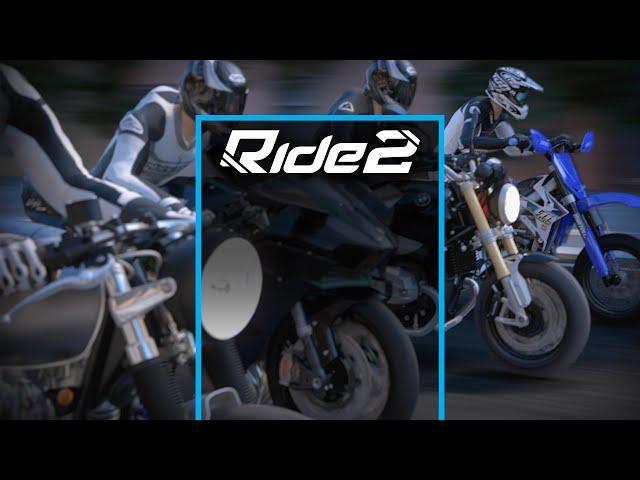 Ride 2 Screenshot and Logo