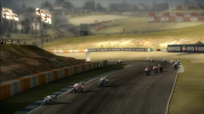 MotoGP 10/11 Screenshot