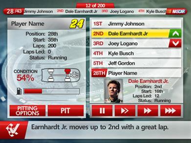 NASCAR Redline Screenshot