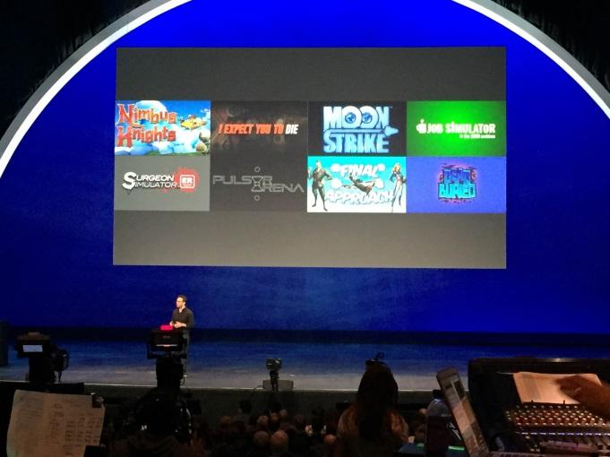 Oculus Connect 2 conference