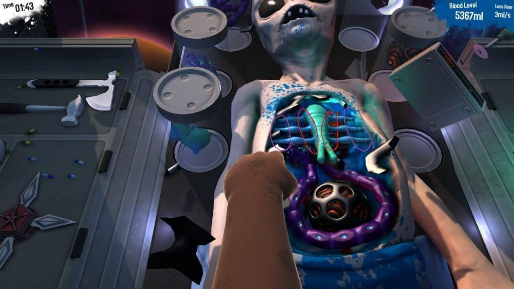 Surgeon Simulator for VR Screenshot