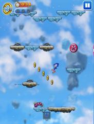 Sonic Jump Screenshot