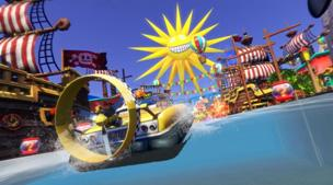 Sonic & All Stars Racing Transformed Screenshot
